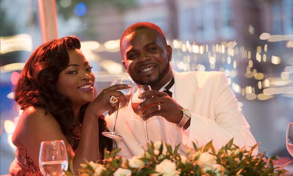 mariage de Funke akindele