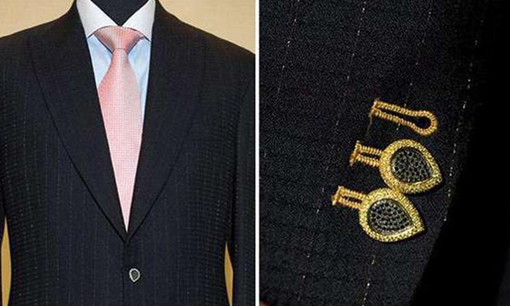 Stuart Hughes Diamond Edition : Le costume le plus cher au monde !